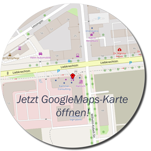 Flower and Living in Magdeburg – Anfahrt – Google Maps